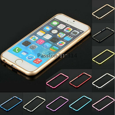 Ultra thin Aluminum Metal Bumper Frame Case Cover For iPhone 6 6S 7 Plus
