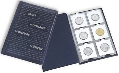 60 Pocket Numis Coin Album for 2x2 Coin Holders