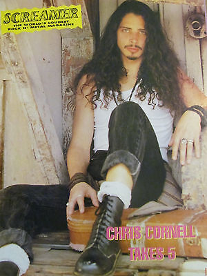 Chris Cornell, Soundgarden, Full Page Vintage Pinup