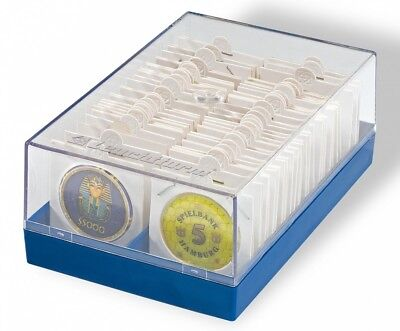 NEW Lighthouse Coin Box to hold 100 Coins in 2x2 holders
