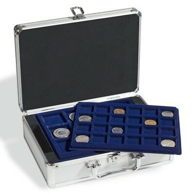 New Lighthouse Cargo S6 Aluminum Coin Case will hold 112 coins.