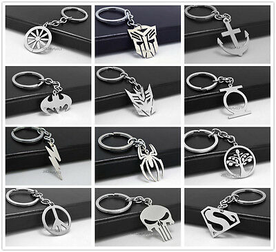 Fashion Novel  Chains Keyring Keychain  stainless steel  Pendant Gift Present