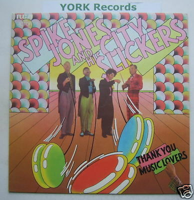 SPIKE JONES - Thank You Music Lovers - Ex Con LP Record