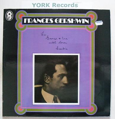 FRANCES GERSHWIN - For George & Ira - Ex Con LP Record