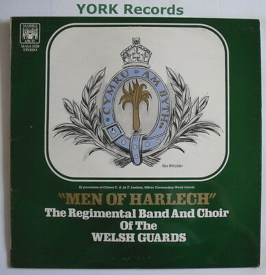 BAND OF THE WELSH GUARDS - Men Of Harlech - Ex LP Record Marble Arch MALS 1320