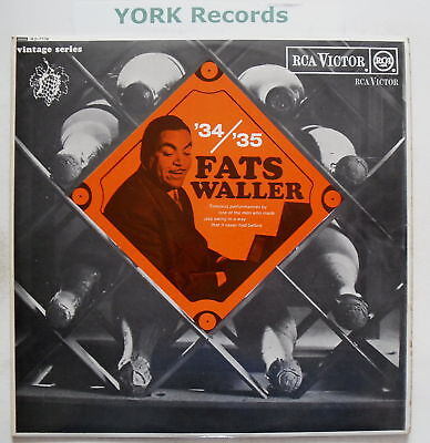 FATS WALLER & HIS RHYTHM - '34/'35 Fats Waller - Ex LP