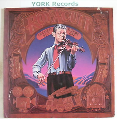 ROY ACUFF - Greatest Hits Vol 1 - Ex Double LP Record