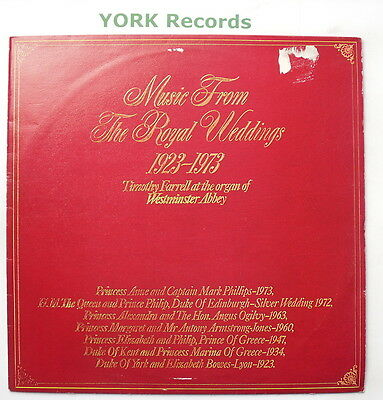 2460 230 - MUSIC FROM ROYAL WEDDINGS - Timothy Farrell - Ex Con LP Record