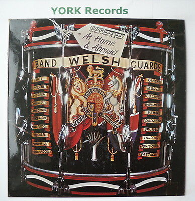 BAND OF THE WELSH GUARDS - At Home & Abroad - Ex Con LP Record BBC REB 169
