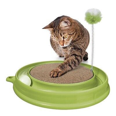 PLAY 'n SCRATCH - TOY & SCRATCH PAD IN 1, BALL TRACK, SPRINGY POMPOM & REFILLS