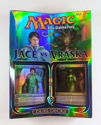 Jace vs. Vraska MtG Magic the Gathering Duel Decks englisch