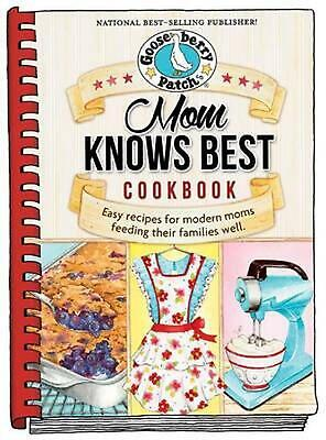 Mom Knows Best Cookbook by Gooseberry Patch Hardcover Book (English)