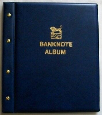 New Blue Cover VST Banknote Album