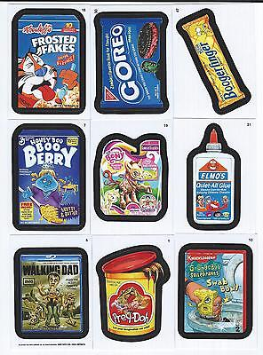 2013 Topps WACKY PACKAGES ANS Series 11 Set  (55 Cards)