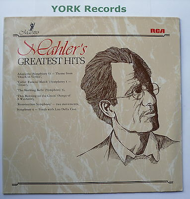 GL 89786 - MAHLER - Greatest Hits - Excellent Condition LP Record