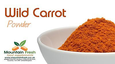 Carrot Powder - Natural Source of Vitamin A - Beta-Carotene 25g FREE UK Delivery