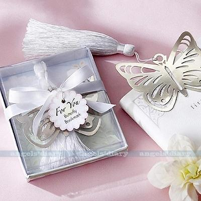 Cute Butterfly BOOKMARK Note Funny Book Marker Memo Stationery Gift