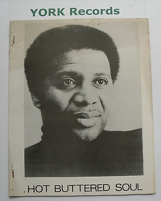 HOT BUTTERED SOUL MAGAZINE - Issue 35 - November 1974 - Rufus Thomas / Chariot