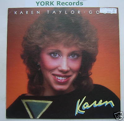 KAREN TAYLOR-GOOD - Karen - Ex Con LP Record