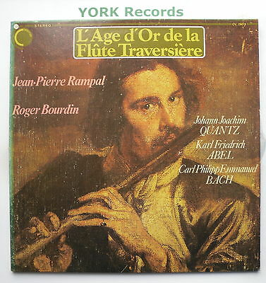 CV.25015 - L'AGE D'OR DE LA FLUTE TRAVERSIERE - Excellent Con Double LP Record