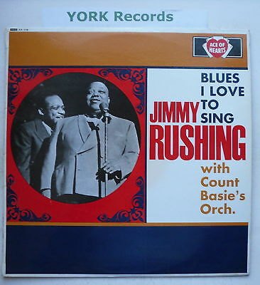 JIMMY RUSHING - Blues I Love To Sing - Ex Con LP Record