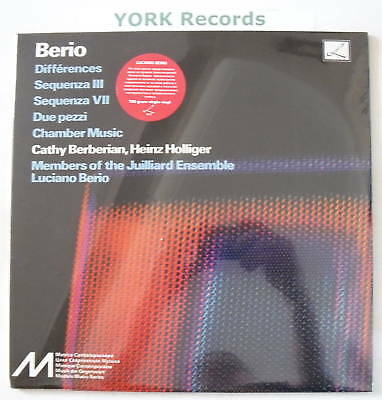 LUCIANO BERIO - Differences - LP NEW SEALED