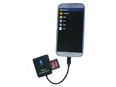 Micro USB OTG Phone Card Reader For Samsung Galaxy S5 i9600 S6 Note 2 3 N9000
