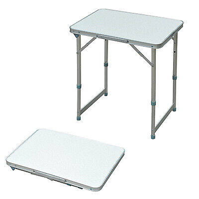 Outsunny Patio Foldable Picnic Table Portable Camping Patio Dining Lunch Desk