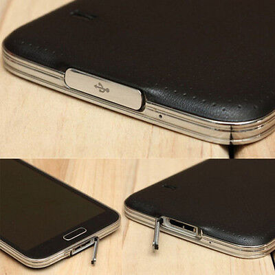USB Charger Dock Charging Port Waterproof Anti-dust Cover For Samsung Galaxy S5