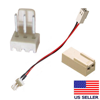 3-Pin to 2-Pin Fan Adapter Cable FREE S/H