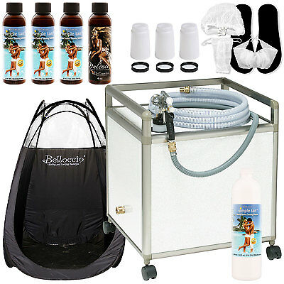 Apollo WHISPER MIST Sunless Airbrush SPRAY TANNING SYSTEM Machine Simple Salon