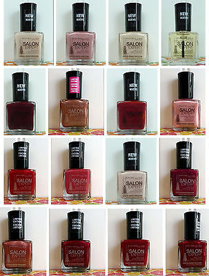 One New Maybelline Salon Expert Nail Polish - You Pick! - Hard To Find Shades