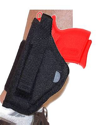 Nylon Ankle holster fits AMT Backup 380 w 2 inch barrel Left Hand Draw