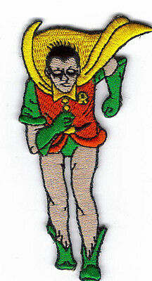 Batman And Robin Robin Embroidered Patch !