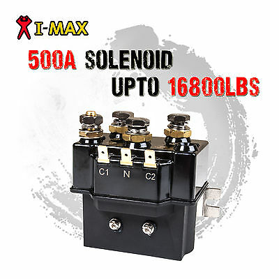 I-MAX 12V DC 500A Winch Solenoid Controller Switch Series Wound 4WD 4x4 ATV Boat
