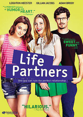 LIFE PARTNERS - LEIGHTON MEESTER   GILLIAN JACOBS  2015 GAY EROTIC COMEDY DVD WS