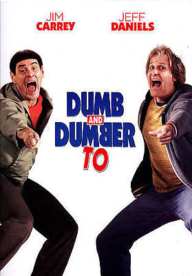 DUMB AND DUMBER TO - JIM CARREY   JEFF DANIELS  2015 COMEDY DVD WS