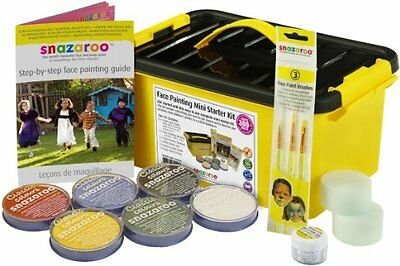 Snazaroo Face Paint Mini Starter Kit New Clothing Shoes Accessories Costumes N