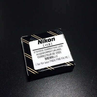 Nikon Diopter-Adjustment +1 Eyepiece Correction Lens for FM3A NewFM2 FA FE2 New