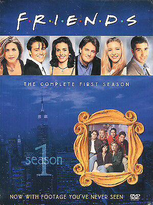 Friends ~ The Complete First 1st Season ~ New Factory Sealed 4-Disc DVD Box Set