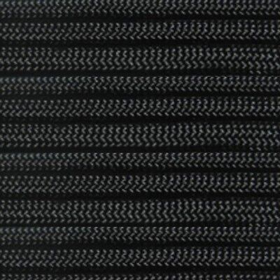 Black 550-LB Paracord Mil Spec Type III 7 strand parachute cord 100 ft