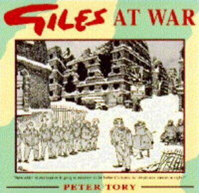 Giles at War, Tory, Peter Hardback Book The Cheap Fast Free Post