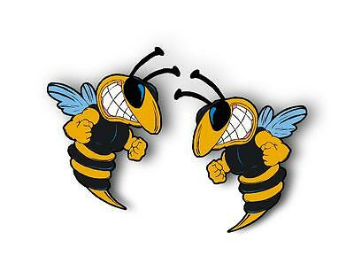 Hornet Stickers Bees Wasp Sticker Choose size (More in Ebay shop)