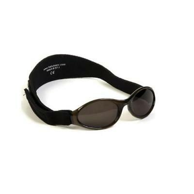 Baby Banz Adventurer Sunglasses 100% UVA/UVB Protection (Ages 0-2yrs) Black