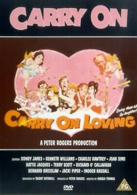 Carry On Loving [DVD] - DVD  BUVG The Cheap Fast Free Post