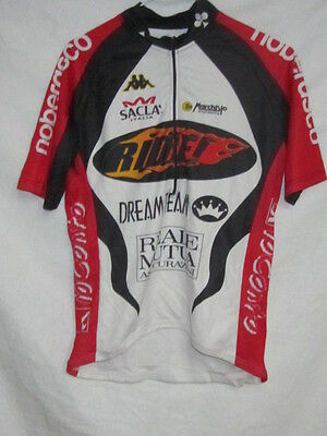 KAPPA RIDE DREM TEAM MAGLIA DA CICLISTA BICI CYCLING SHIRT TG M