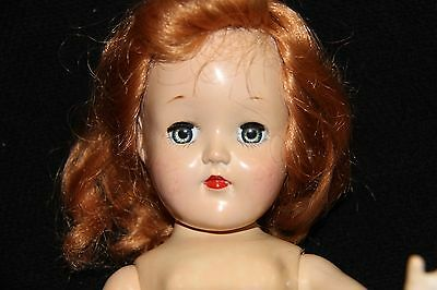ANTIQUE VINTAGE IDEAL TONI DOLL P 90 RED HAIR/STRAWBERRY