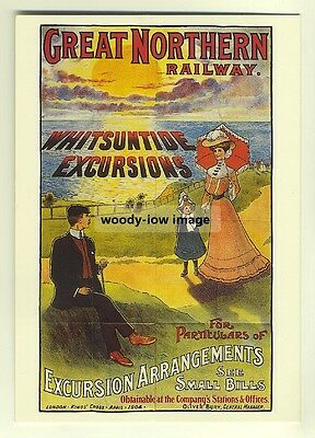 ad2822  -  GNR  -  Whitsuntide Excursions  -  modern poster advert postcard