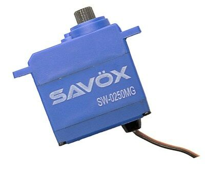 Savox SW-0250MG Waterproof Metal Gear Servo .11s / 69oz Traxxas 1/16 E-Revo