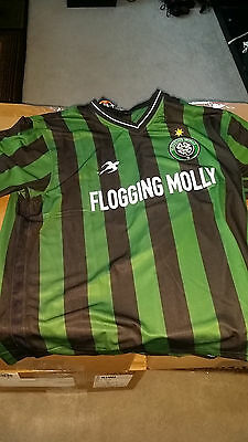 FLOGGING MOLLY Soccer Jersey Size X-SMALL! Super smooth and amazing! GET IT NOW!